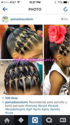 Hairstyles For Little Girls Classy 17 Super Cute Hairstyles For Little Girls  Black Girls Hairstyles