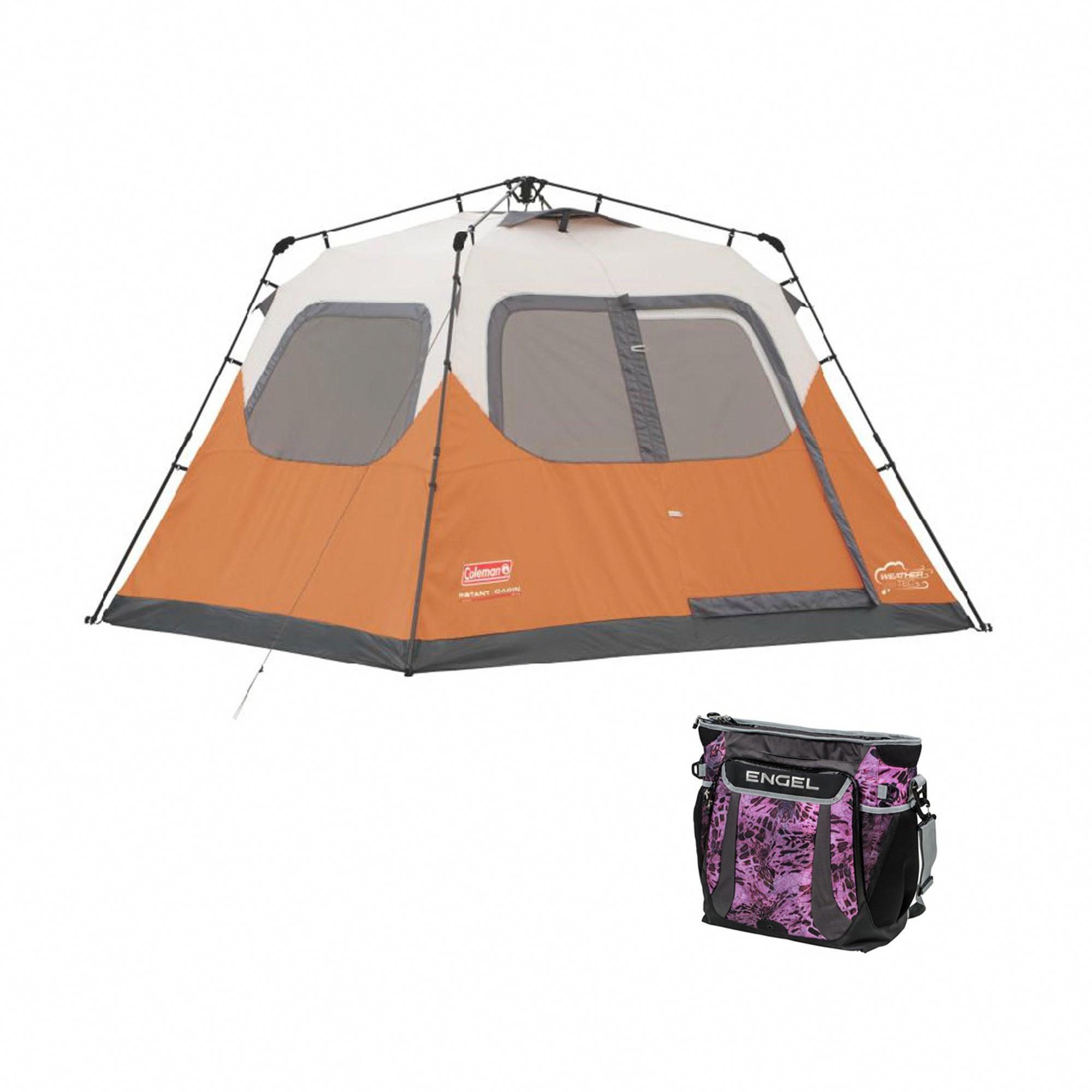 coleman 6 man instant tent review