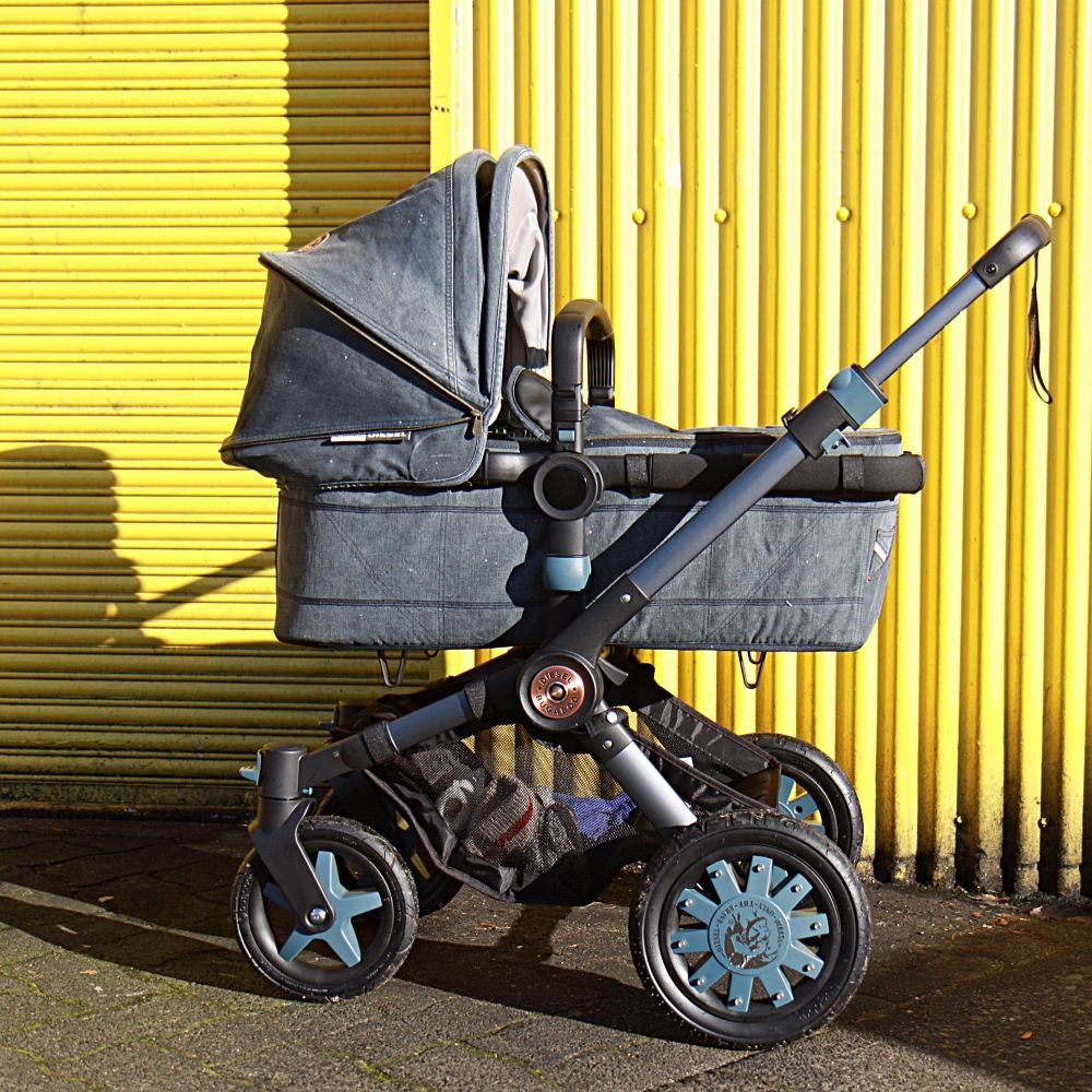 Bugaboo by Diesel Denim, review at http//www