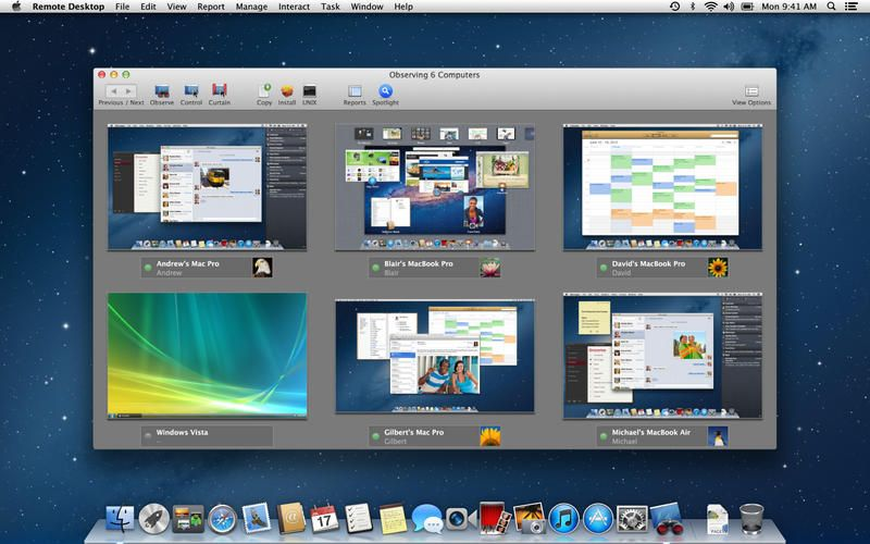 Apple Remote Desktop инструкция