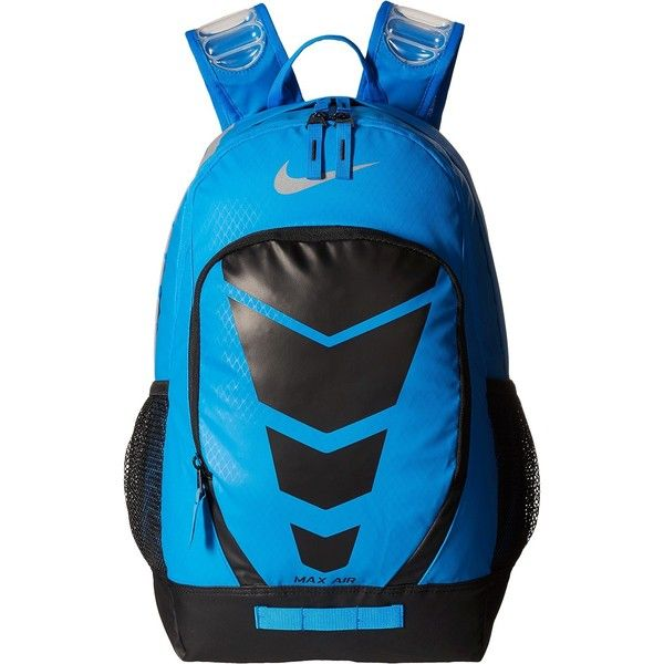1e32c1caf9 Nike Max Air Vapor Backpack (Photo Blue Black Metallic Silver) Day... ( 56)  ❤ liked on Polyvore featuring bags