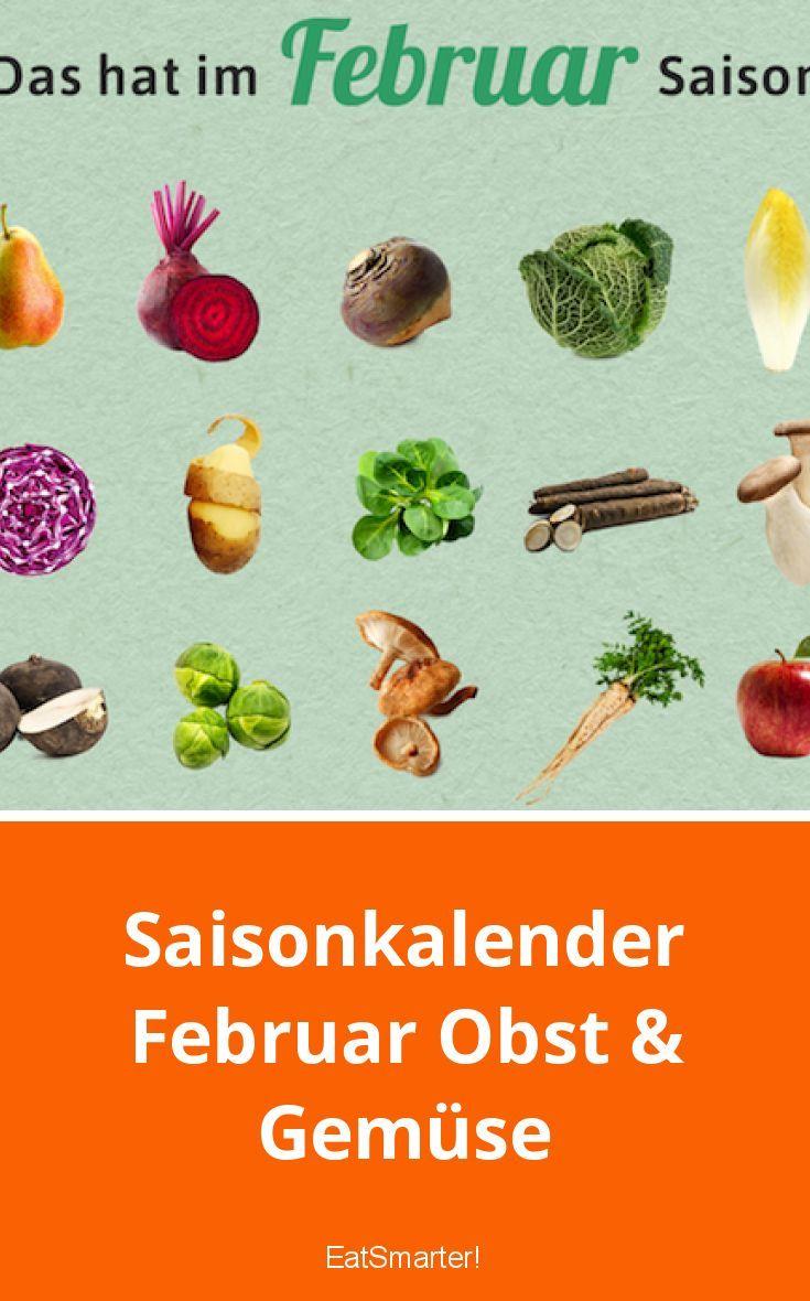 Saisonkalender Februar Obst & Gemüse