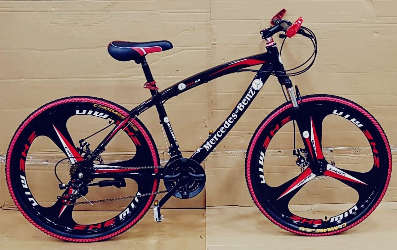 Mercedes Benz Sleek Design Mtb Cycle With 21 Speed Shimano Gears