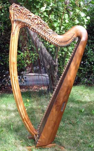 Celtic Harp Irish Scots Amp Celtic Pinterest