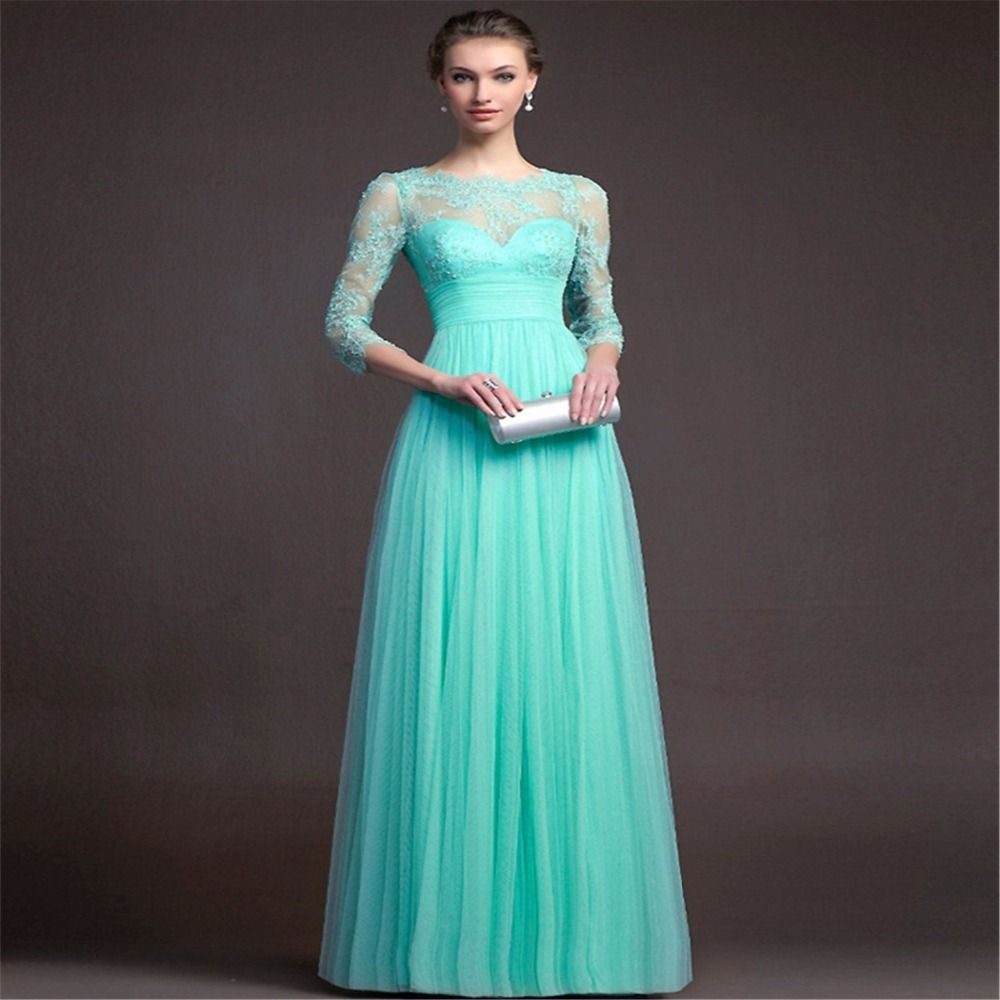 Click to buy ucuc new elegant long evening dress party dresses