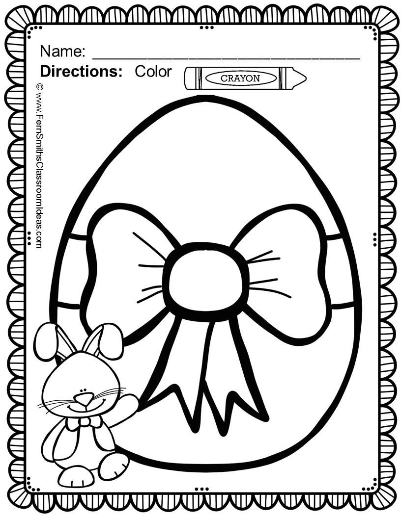 Easter Coloring Pages - 33 Pages of Easter Coloring Fun   Trabajos ...