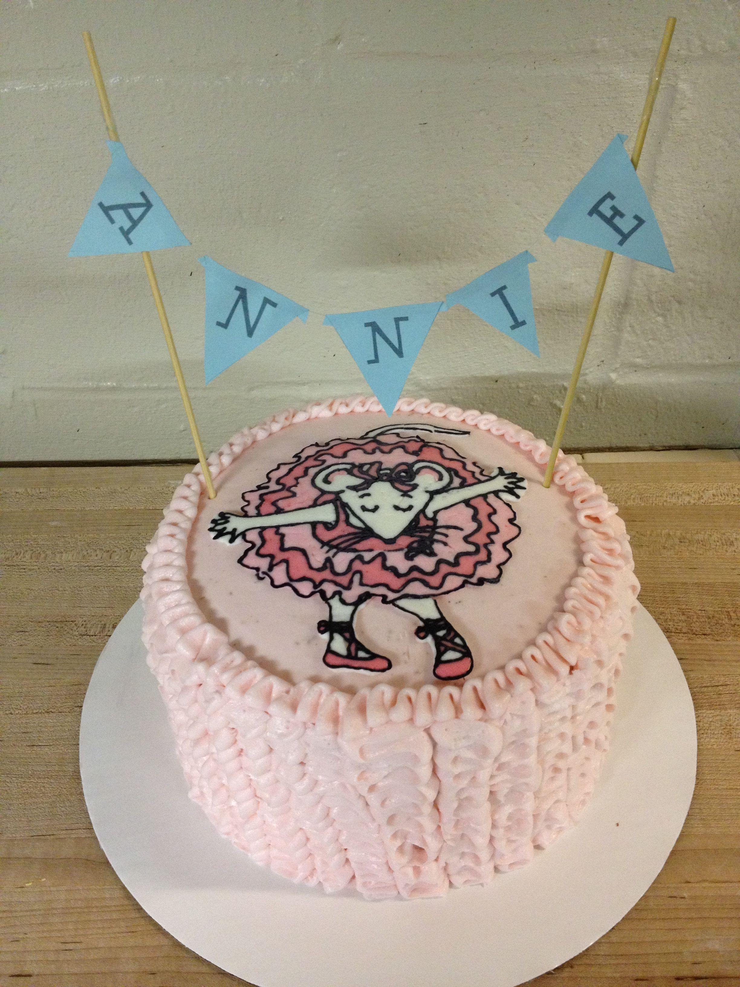 Angelina ballerina cake   Ballerina cakes, Ballerina ...