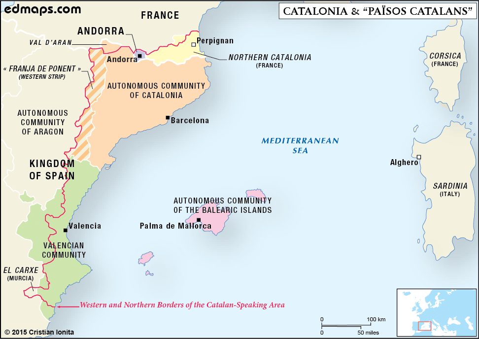 catalonia and catalan countries