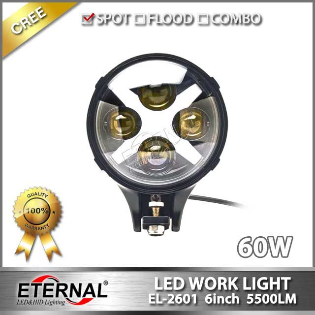 Offroad Suv 4x4 Led Driving Spot Light J W Speakers 60w High Power Spotlight With Drl X Color White Blue Green Red Amb Led Work Light Work Lights Suv 4x4