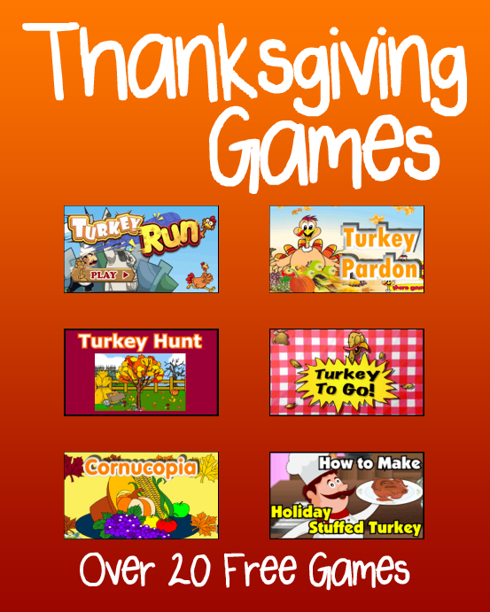 Thanksgiving Games Thanksgiving games, Thanksgiving