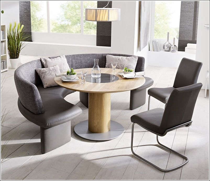 Corinna White Black Leather Dining Set Kitchen Booth Breakfast Booth Table  Set In Kitchen Dining Table