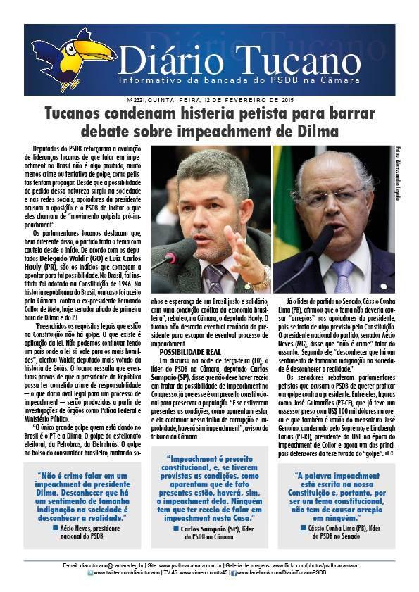 """HELLBLOG: Leia a edição desta quinta-feira do """"Diário Tucano..."""