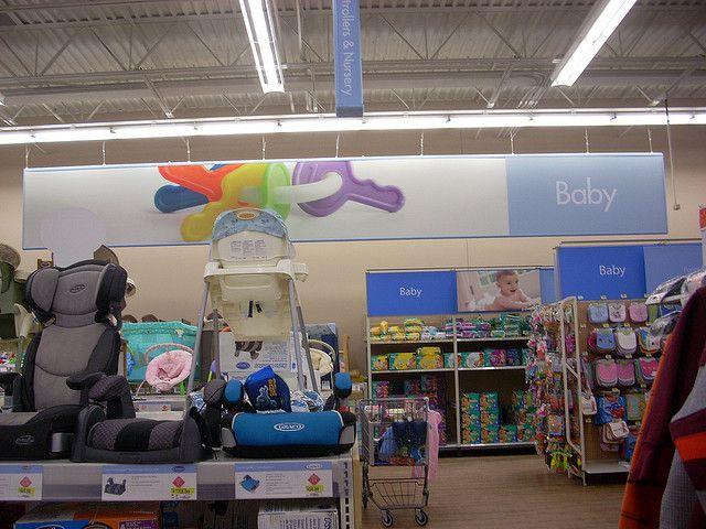 Wal Mart Supercenter Interior Retail Design Walmart Baby Nursery