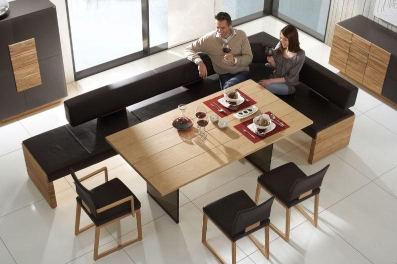 essgruppe essbank aus leder voglauer m bel st hle esszimmer pinterest leder. Black Bedroom Furniture Sets. Home Design Ideas