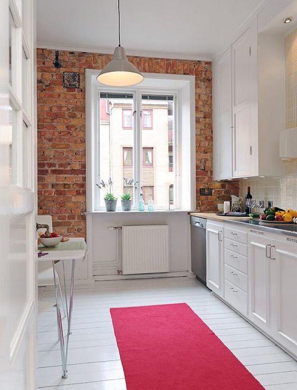Muebles de cocina blancos   Decoración de cocina   Cocinas ...
