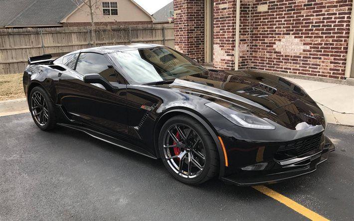 Chevrolet Corvette 2017 Forgeline Z06 Chrome Wheels Vx1r Black Tuning