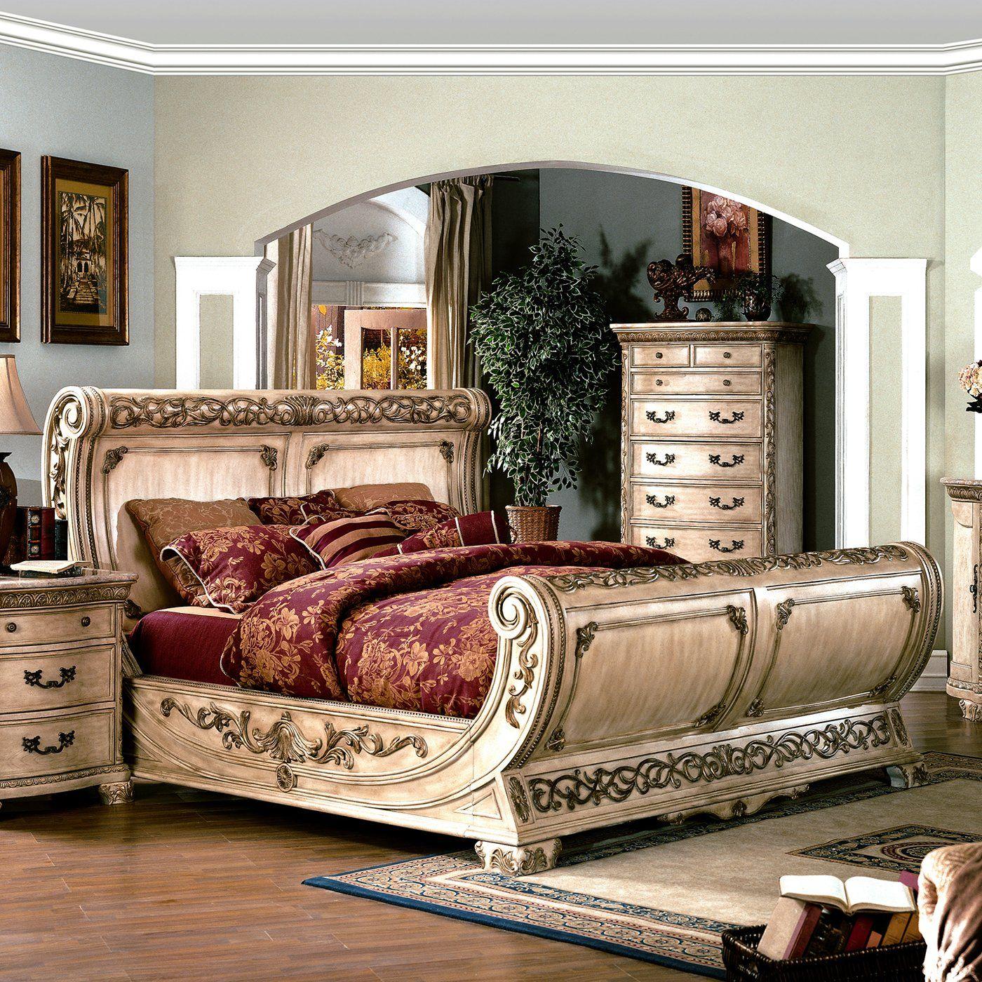 Yuan Tai Furniture Cannes Sleigh Bed Phong Ngủ