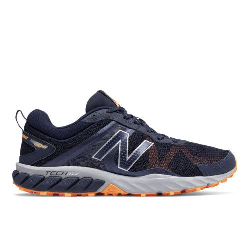 posibilidad Arado Tierras altas  New Balance 610v5 Men's Trail Running Shoes - Navy/Silver/Blue (MT610RN5) |  Mens trail running shoes, Marathon running shoes, Trail running shoes