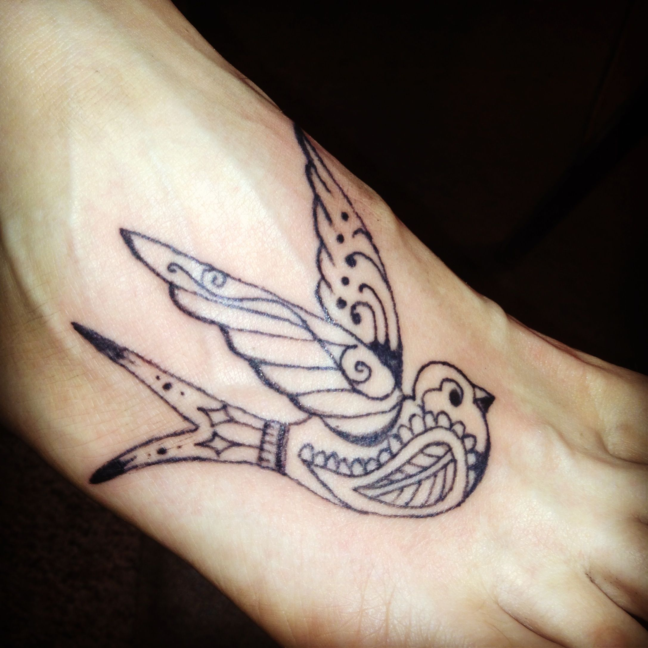 Sparrow tattoo for jack whom was named by his sister for Don t tell mom tattoo
