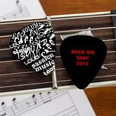 Picture This! Personalized Photo Guitar Pick - Men's Gifts - Men's Gifts