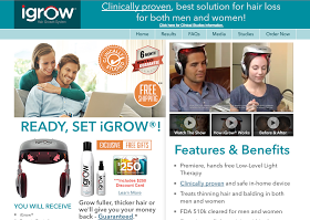 As Seen On TV iGrow - Clinically Proven, Best Solution For Hair Loss For Both Men and Women You can have thick, lustrous hair and increase ...