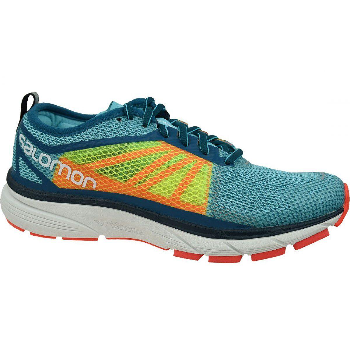 Buty Salomon Sonic Ra W 401438 Niebieskie Wielokolorowe Blue Shoes Salomon Shoes Shoes