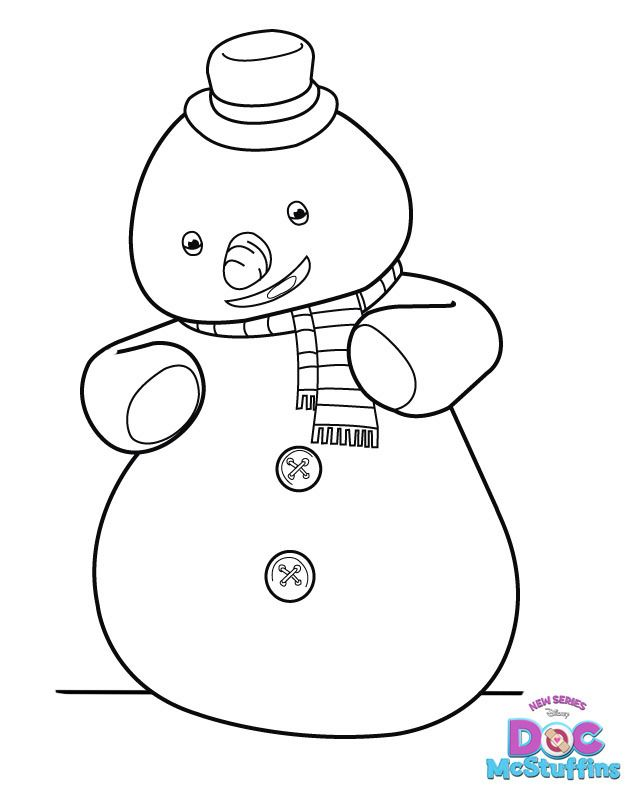 Chilly from Doc McStuffins! | chiara\'s 3rd bday | Pinterest ...