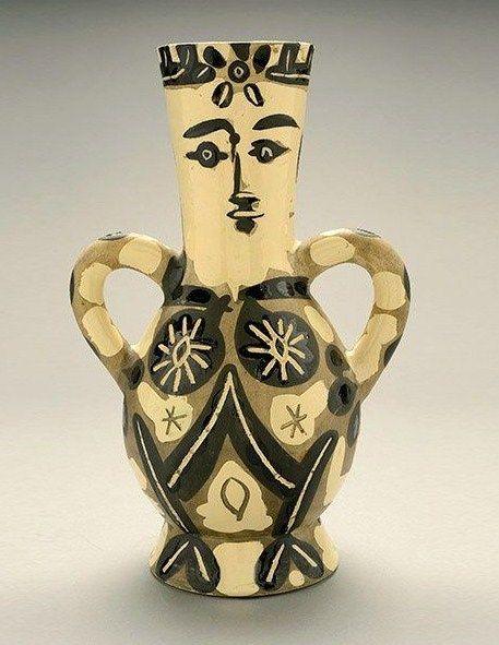 Pablo Picasso Vase Edition Picasso Madoura Estimate 20000