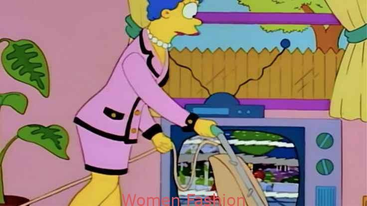 On the longing domestic work and the pink Chanel suit by Marge Simpson