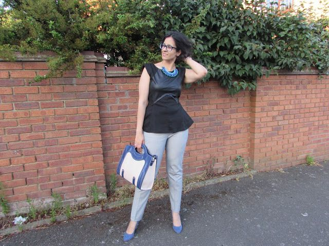My Daily Wear : Look of the Day: Summer in Peplum