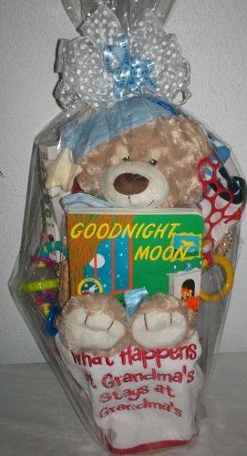 New grandma basket custom gift baskets pinterest gift new grandma basket negle Image collections