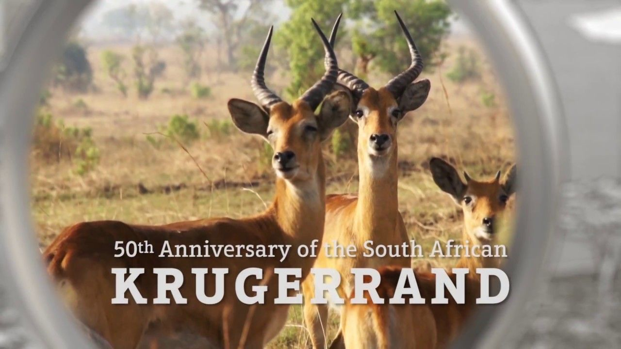 The First Silver Krugerrand! 50th Anniv of the Krugerrand Coin