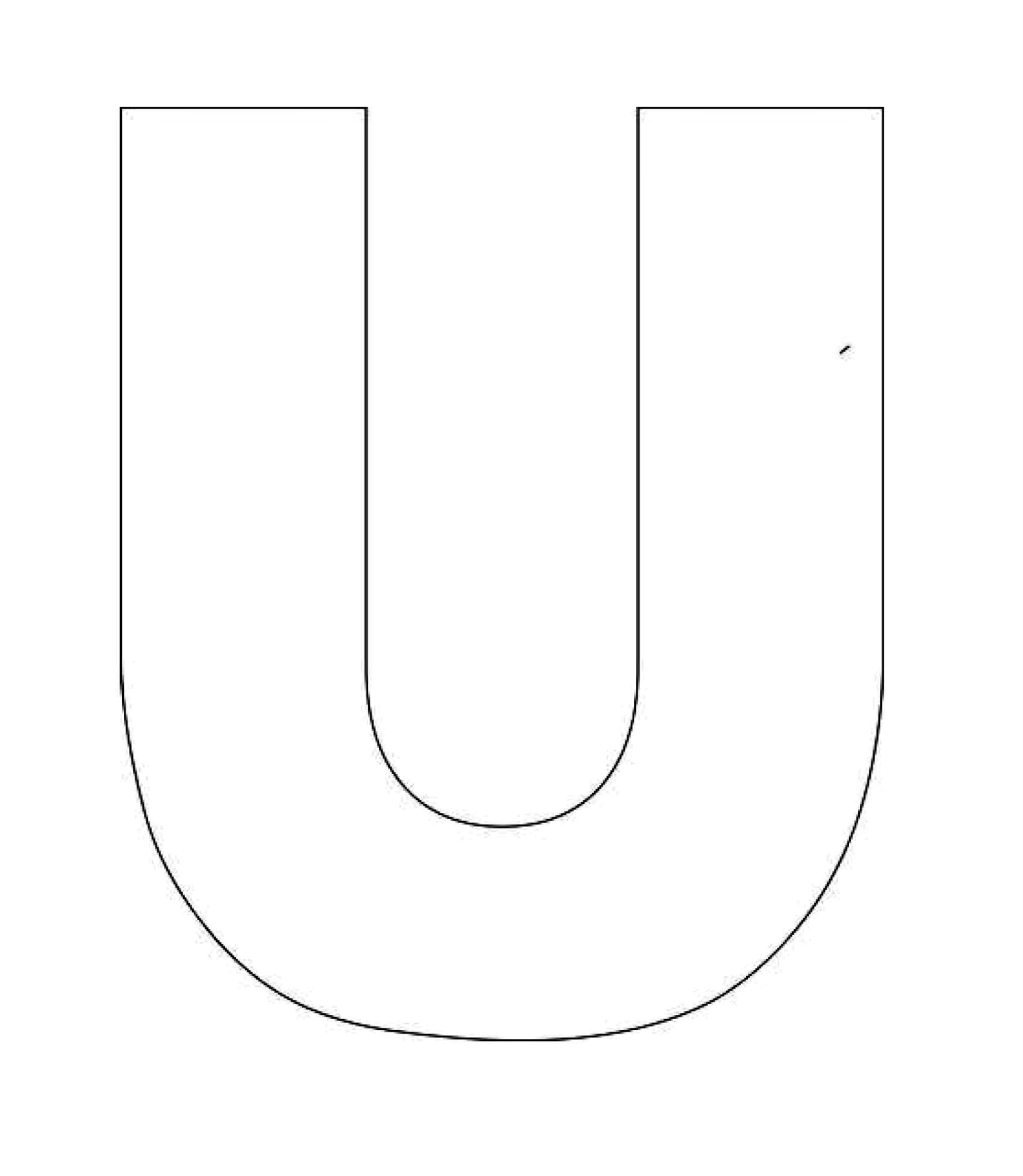 printable alphabet letter u template alphabet letter u templates are