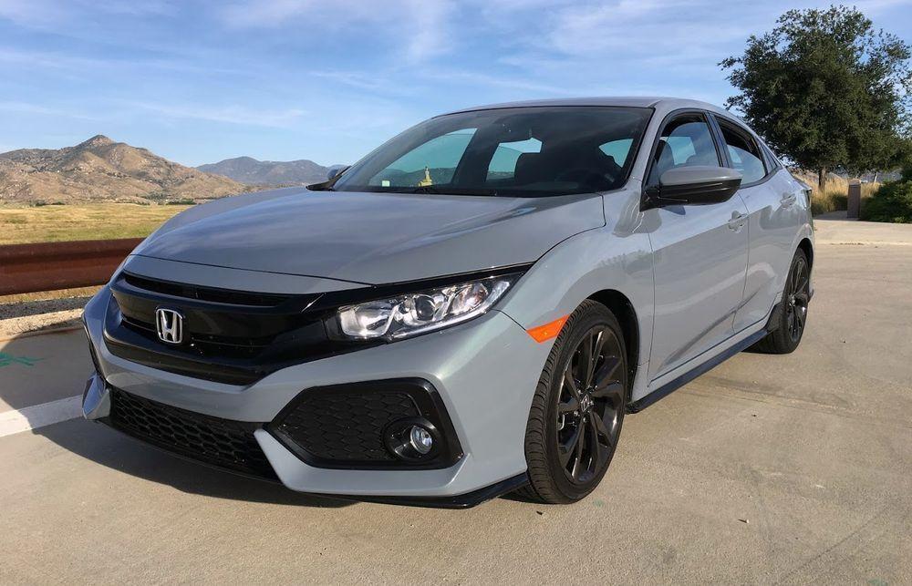 2018 Honda Civic Hatchback Sport 1.5 Turbo Sonic Gray