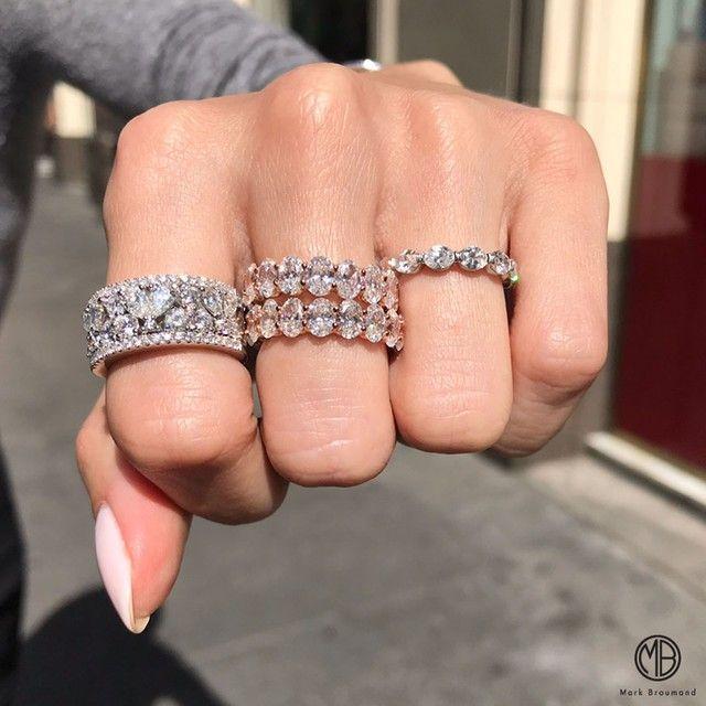 Beautiful Diamond Eternity Bands In 2020 Diamond Wedding Bands Fancy Shape Diamond Eternity Band Diamond