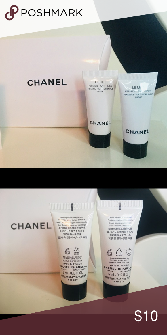 Chanel Le Lift Serum Cream Serum Cream Travel Size Products Serum