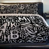 Found it at Wayfair.ca - Chalk Letters Lightweight Duvet Cover