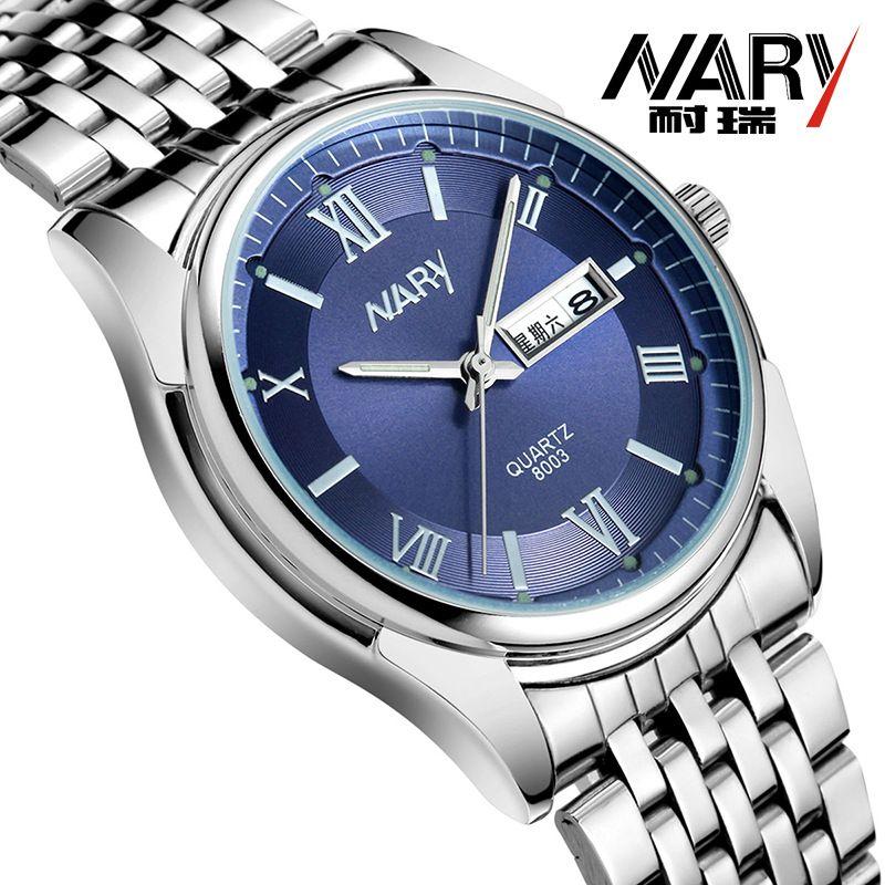 $29.99 (Buy here: https://alitems.com/g/1e8d114494ebda23ff8b16525dc3e8/?i=5&ulp=https%3A%2F%2Fwww.aliexpress.com%2Fitem%2FNARY-Luxury-Fashion-Watch-Men-Women-Stainless-Steel-Band-Quartz-Watch-Retro-Roman-numerals-Business-Wristwatch%2F32668836189.html ) NARY Luxury Fashion Watch Men Women Stainless Steel Band Quartz Watch Retro Roman numerals Business Wristwatch Clock Relogio  for just $29.99