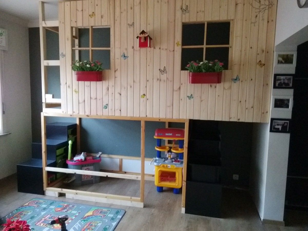 Lit Kura Cabane Ikea Kura Double Decker Playhouse Girl S Bedroom Ideas Play