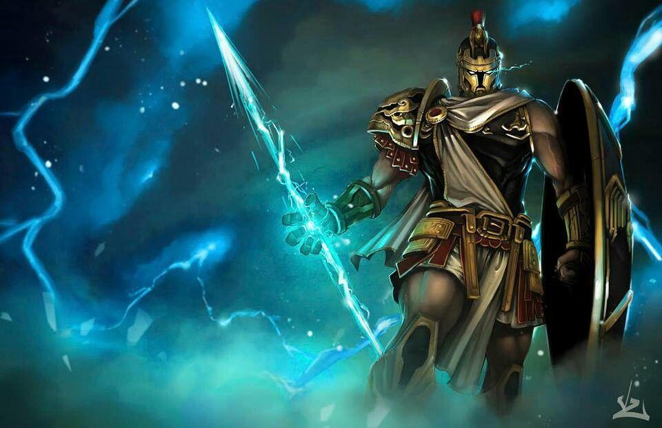 Pantheon Fanart Lol League Of Legends