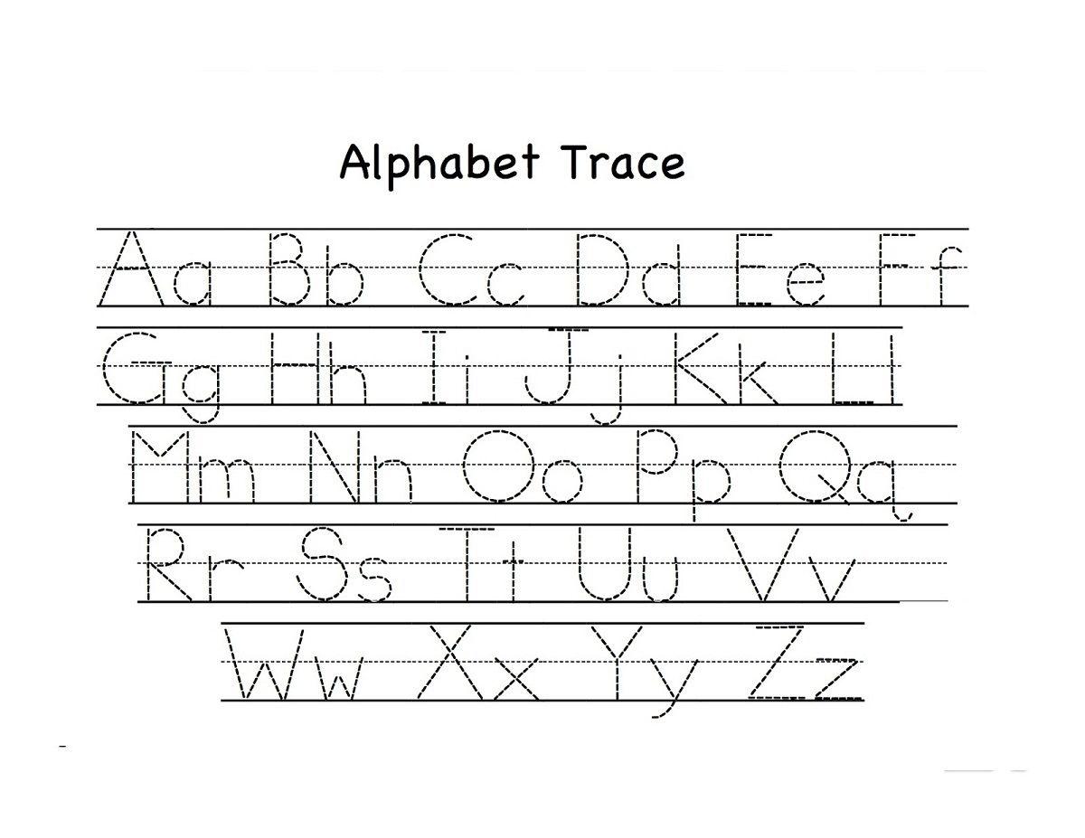 Free Alphabet Worksheets For Kids