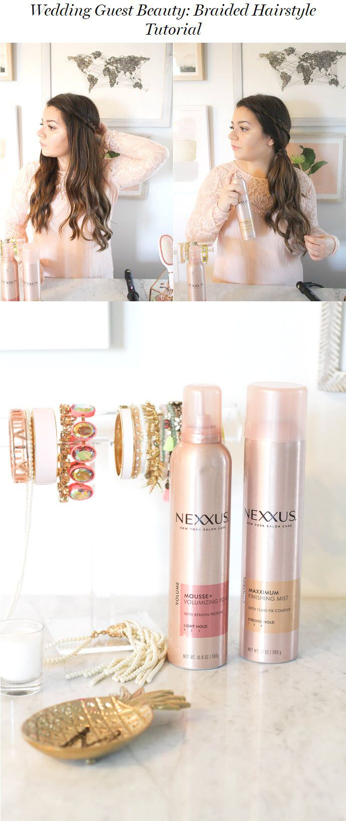 Nexxus Comb Thru Volume Finishing Mist Hairspray - 10oz | Summer ...