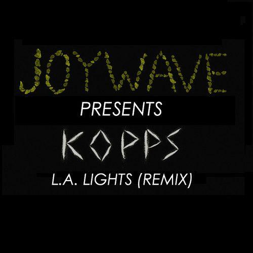 Great bassy synthwave/shoegaze track. Joywave - L.A. Lights (KOPPS Remix)