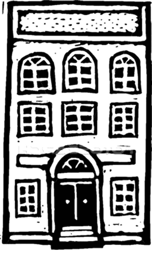 Pin By Tocolor On Apartment Coloring Pages Coloring Pages House Colouring Pages Free Coloring Pages