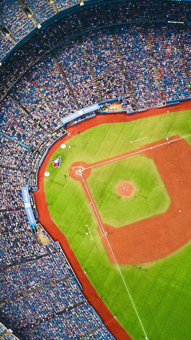 BLUEJAYS BASEBALL MLB FIELD SPORTS WALLPAPER HD IPHONE