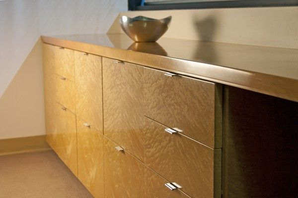 A timeless and distinctive drawer pull design that goes well with ...