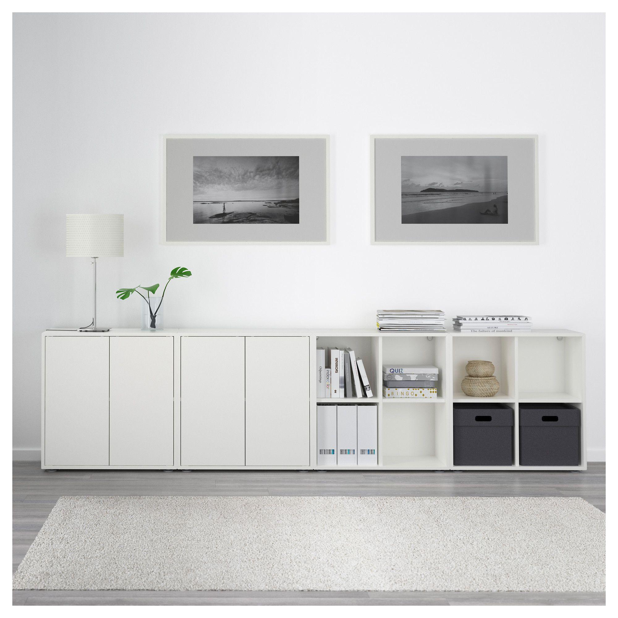 ikea eket storage combination with feet white basement ikea rh pinterest com