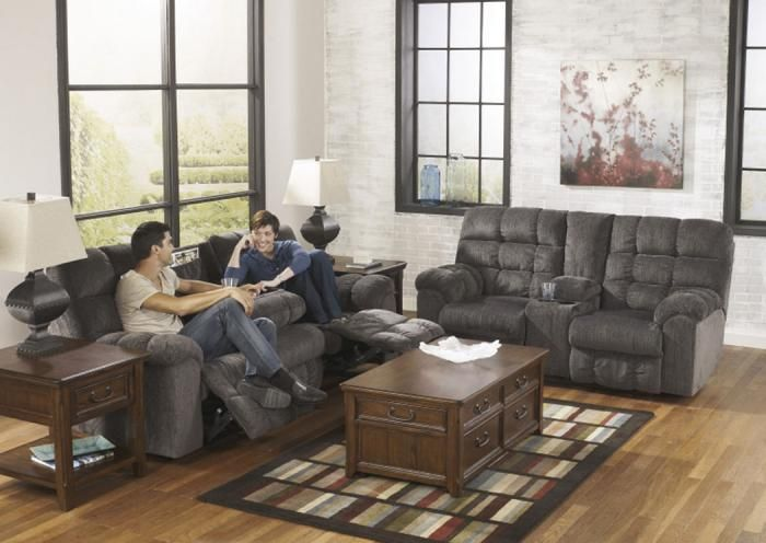 LR14 Grey Reclining Sofa With Dropdown TableTaft Furniture Showcase : taft furniture sectionals - Sectionals, Sofas & Couches