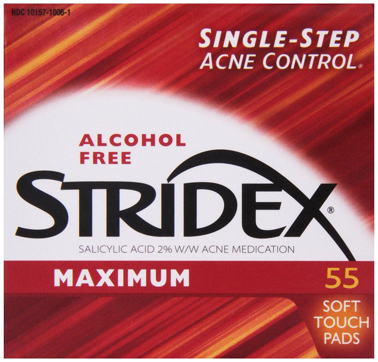 Stridex Pads, Maximum Strength, 55 ct >>> This is an Amazon