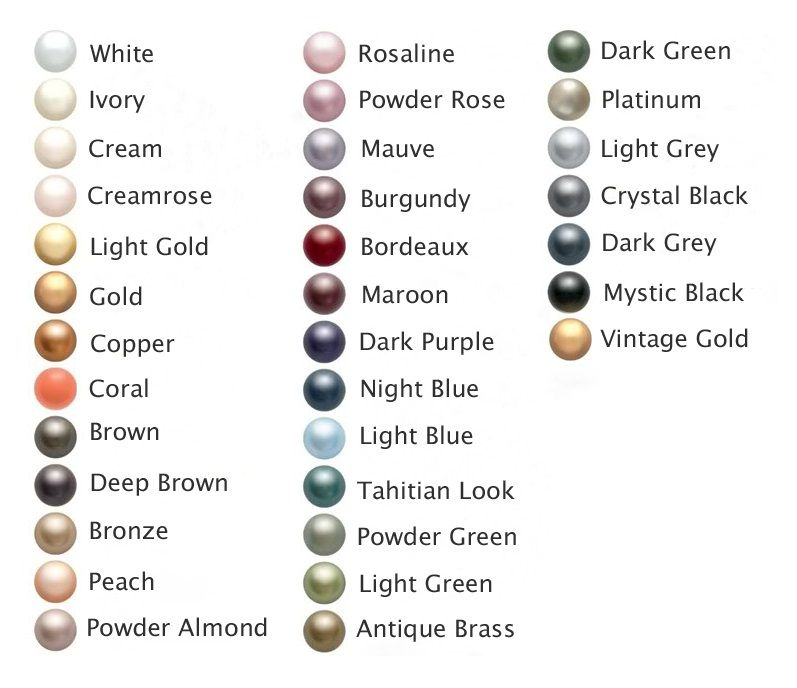 Pearl Color Chart What Are Freshwater Pearls Com Cultured Colour Pearl Color Bridesmaid Pearls Bridesmaid Pearl Earrings